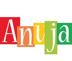 Anuja colors logo