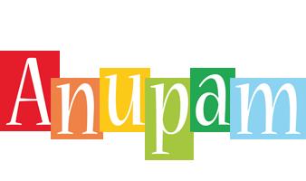 Anupam colors logo