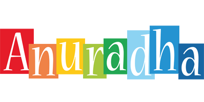 Anuradha colors logo