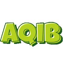 Aqib summer logo