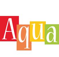 Aqua colors logo