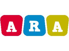 Ara kiddo logo