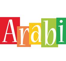 Arabi colors logo