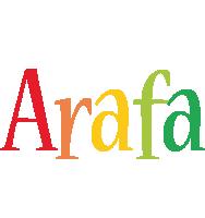 Arafa birthday logo