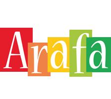 Arafa colors logo