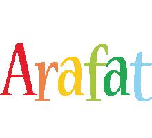 Arafat birthday logo
