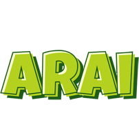 Arai summer logo