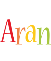 Aran birthday logo