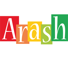 Arash colors logo