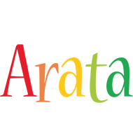 Arata birthday logo