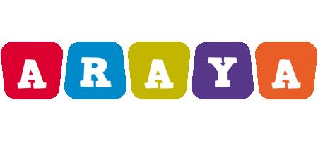 Araya kiddo logo