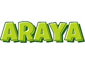 Araya summer logo