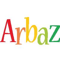 Arbaz birthday logo