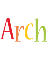 Arch birthday logo