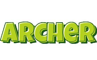 Archer summer logo