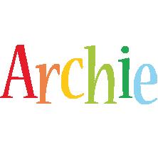 Archie birthday logo