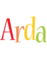 Arda birthday logo
