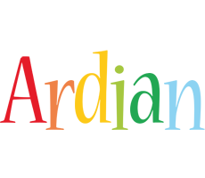 Ardian birthday logo