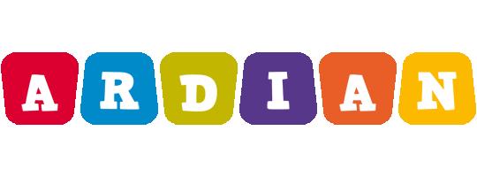 Ardian kiddo logo