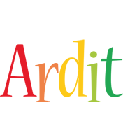 Ardit birthday logo