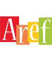 Aref colors logo