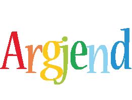 Argjend birthday logo