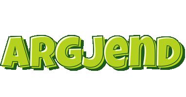 Argjend summer logo