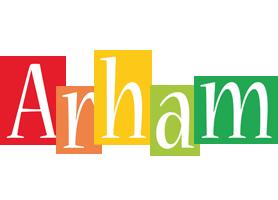 Arham colors logo
