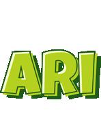 Ari Logo | Name Logo Generator - Smoothie, Summer ...