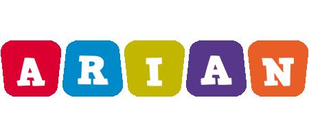 Arian kiddo logo