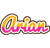 Arian smoothie logo