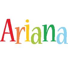Ariana birthday logo