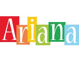 Ariana colors logo