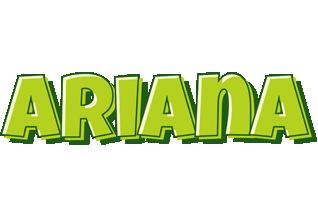 Ariana summer logo