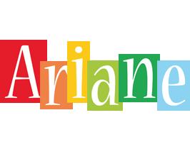 Ariane colors logo