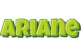 Ariane summer logo