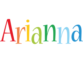 Arianna birthday logo