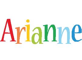 Arianne birthday logo