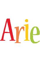 Arie birthday logo