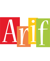 Arif colors logo