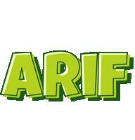 Arif summer logo