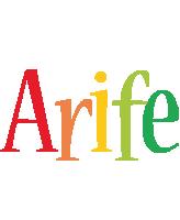 Arife birthday logo