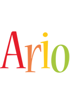 Ario birthday logo