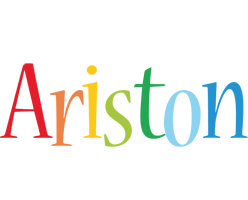 Ariston birthday logo