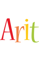 Arit birthday logo