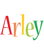 Arley birthday logo