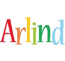 Arlind birthday logo