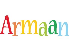 Armaan birthday logo