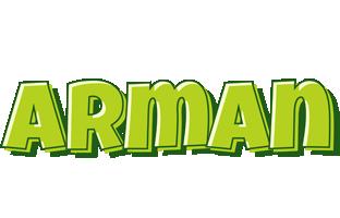 Arman summer logo