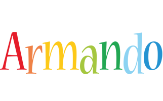 Armando birthday logo